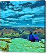 Grand Canyon # 7 - Hopi Point Canvas Print