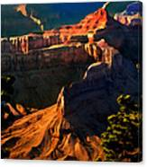 Grand Canyon At Sunset Canvas Print