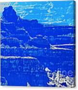 Grand Canyon Blues Canvas Print