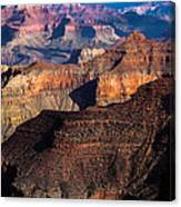 Grand Canyon Colors Canvas Print