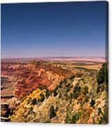 Grand Canyon Desert View Watchtower Panorama Canvas Print