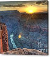 Grand Canyon First Light Canvas Print