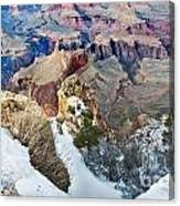 Grand Canyon In February Canvas Print