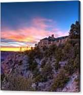 Grand Canyon Lodge Canvas Print