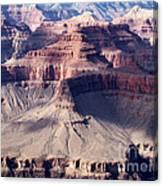 Grand Canyon Mesas Canvas Print