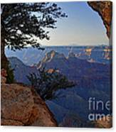 Grand Canyon National Park At Angels Point  Canvas Print