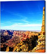 Grand Canyon National Park Mary Colter Designed Desert View Watchtower Vivid Canvas Print