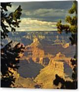 Grand Canyon Peek Canvas Print