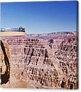 Grand Canyon Skywalk, Eagle Point, West Canvas Print