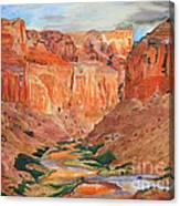 Grand Canyon Splendor Canvas Print