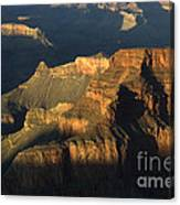 Grand Canyon Symphony Of Light And Shadow Canvas Print