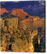 Grand Canyon - The Wonders Of Light And Shadow - 1a Canvas Print