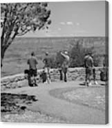 Grand Canyon Tourism Canvas Print