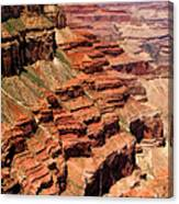 Grand Canyon Valley Depths Canvas Print