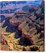 Grand Canyon Valley Trail Canvas Print