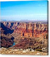 Grand Canyon Vast View Canvas Print