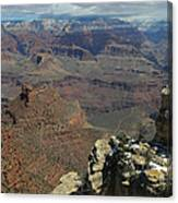 Grand Canyon View 6 Canvas Print