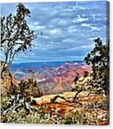 Grand Canyon View IIi Canvas Print