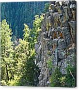 Grand Canyon Walls Lan 183 Canvas Print