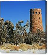 Grand Canyon Watch Tower Canvas Print