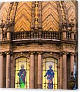 Grand Cathedral Of Guadalajara Canvas Print