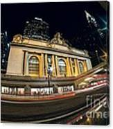 Grand Central Station And Chrysler Building Canvas Print