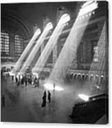 Grand Central Station Sunbeams Canvas Print