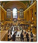 Grand Central Terminal Nyc Canvas Print