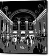 Grand Central Terminal Poster Canvas Print