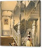 Grand Elizabethan Staircase Canvas Print