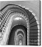Grand Flora Stairwell Rome Italy Canvas Print