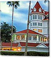 Grand Floridian Resort Walt Disney World Canvas Print