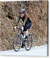 Grand Fondo Rider Canvas Print