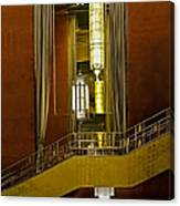 Grand Foyer Staircase Canvas Print
