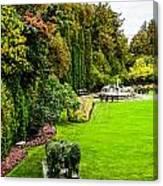 Grand Garden Canvas Print