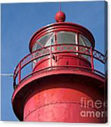 Grand Haven Red Canvas Print