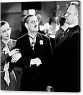 Grand Hotel, From Left, Joan Crawford Canvas Print