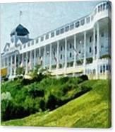 Grand Hotel Mackinac Island Ll Canvas Print