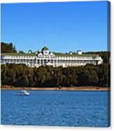 Grand Hotel Mackinac Island Canvas Print