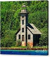 Grand Island East Channel Light Canvas Print