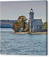 Grand Island Lighthouse. Canvas Print