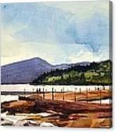 Grand Marais Lighthouses Canvas Print
