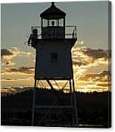 Grand Marais Mn Lighthouse 6 Canvas Print