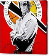 Grand Master Helio Gracie Canvas Print