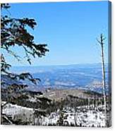 Grand Mesa Co North Side Valley View Canvas Print