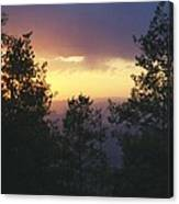 Grand Mesa Sunset Canvas Print