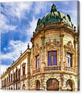 Grand Old Theater In The Heart Of Oaxaca Canvas Print