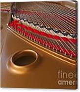 Grand Piano Canvas Print