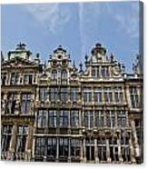 Grand Place Brussels Canvas Print