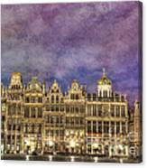 Grand Place Canvas Print